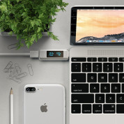 Satechi USB-C Power Meter - уред измерване на ампеража, волтаж и амперчасове за USB-C устройства 4