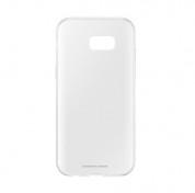 Samsung Clear Cover Case EF-QA520TTEGWW - оригинален TPU кейс за Samsung Galaxy A5 (2017) (прозрачен)  2