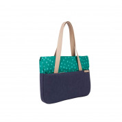 STM Grace Deluxe Laptop Sleeve - teal dot 1