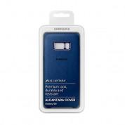 Samsung Alcantara Cover EF-XG955ALEGWW - оригинален кейс от алкантара за Samsung Galaxy S8 Plus (тъмносин) 3