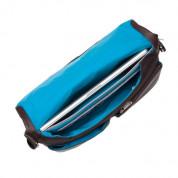 Knomo Kobe Soft Leather Messenger Bag - луксозна кожена чанта за преносими компютри до 15 инча (кафяв) 5