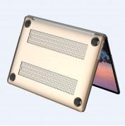 Comma Hard Jacket Cover - тънък (1мм.) предпазен кейс за MacBook Pro Touch Bar 15 (прозрачен) 3