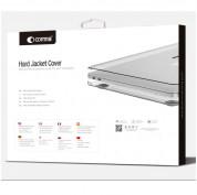 Comma Hard Jacket Cover - тънък (1мм.) предпазен кейс за MacBook Pro Touch Bar 15 (сив-прозрачен) 4