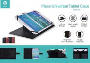 Devia Flexy Universal Case - универсален калъф тип папка и поставка за таблети до 8 инча (черен) 5