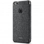 Huawei Smart Cover Window - оригинален кожен калъф за Huawei P10 Lite (черен) 2