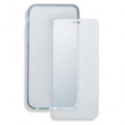 4smarts 360° Protection Set - тънък силиконов кейс и стъклено защитно покритие за дисплея на Huawei P8 Lite (2017) (прозрачен) 3