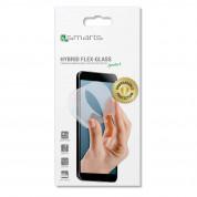 4smarts Hybrid Flex Glass Screen Protector - хибридно защитно покритие за дисплея на HTC U Ultra (прозрачен) 2