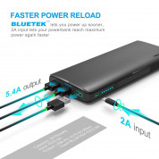 TeckNet iEP3015 Power Bank 30150mAh - качествена външна батерия 30150mAh с 3xUSB за лаптопи, смартфони и таблети (черен) 4