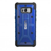 Urban Armor Gear Plasma - удароустойчив хибриден кейс за Samsung Galaxy S8 Plus (син-прозрачен) 1