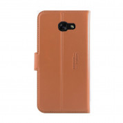 JT Berlin LeatherBook Style Case for Samsung Galaxy A5 (2017) cognac 5