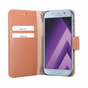 JT Berlin LeatherBook Style Case for Samsung Galaxy A5 (2017) cognac 3