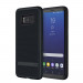 Incipio NGP Advanced Case - удароустойчив силиконов (TPU) калъф за Samsung Galaxy S8 (черен) 1