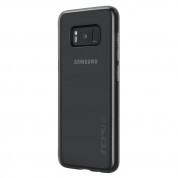 Incipio NGP Pure Case - удароустойчив силиконов (TPU) калъф за Samsung Galaxy S8 Plus (черен-прозрачен) 3