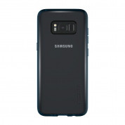 Incipio Octane Pure Case - удароустойчив хибриден кейс за Samsung Galaxy S8 (син-прозрачен) 3