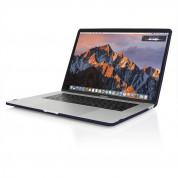 Incipio Feather Cover Case - предпазен кейс за Apple MacBook Pro 15 Touch Bar и MacBook Pro 15 (модел края на 2016) (тъмносин) 5