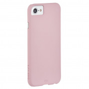 CaseMate Barely There - поликарбонатов кейс за iPhone 8, iPhone 7, iPhone 6S, iPhone 6 (розов)