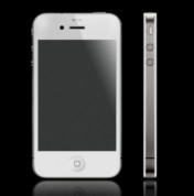 Dummy Apple iPhone 4/4S (бял) - бял макет на iPhone 4/4S 1