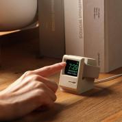 Elago W3 Watch Stand - силиконова винтидж поставка в стила на стар Apple монитор за Apple Watch (бяла) 5