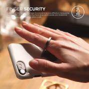 Elago Ring Holder Stand - поставка и аксесоар против изпускане на вашия смартфон (тъмносива) 7
