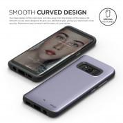 Elago S8 Grip Hybrid Case - удароустойчив хибриден кейс за Samsung Galaxy S8 (сив) 1