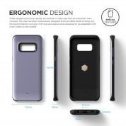 Elago S8 Grip Hybrid Case - удароустойчив хибриден кейс за Samsung Galaxy S8 (сив) 6