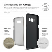 Elago Inner Core Case - тънък полипропиленов кейс (0.3 mm) за Samsung Galaxy S8 Plus (черен) 4
