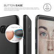 Elago Inner Core Case - тънък полипропиленов кейс (0.3 mm) за Samsung Galaxy S8 Plus (черен) 2