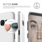 Elago Inner Core Case - тънък полипропиленов кейс (0.3 mm) за Samsung Galaxy S8 Plus (бял) 2