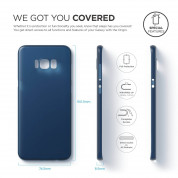 Elago Inner Core Case - тънък полипропиленов кейс (0.3 mm) за Samsung Galaxy S8 Plus (тъмносин) 6