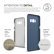 Elago Inner Core Case - тънък полипропиленов кейс (0.3 mm) за Samsung Galaxy S8 Plus (тъмносин) 4