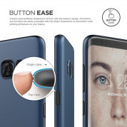 Elago Inner Core Case - тънък полипропиленов кейс (0.3 mm) за Samsung Galaxy S8 Plus (тъмносин) 2
