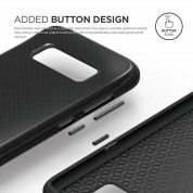 Elago S8 Grip Cushion Case - силиконов (TPU) калъф за Samsung Galaxy S8 Plus (черен) 7