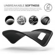 Elago S8 Grip Cushion Case - силиконов (TPU) калъф за Samsung Galaxy S8 Plus (черен) 2