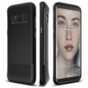 Elago S8 Grip Cushion Case - силиконов (TPU) калъф за Samsung Galaxy S8 Plus (черен)
