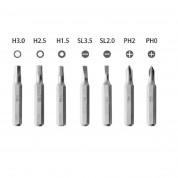 Wowbits Screwdriver Bit Set Apple Group - комплект инструменти за отваряне на мобилни устройства (зелен-сив) 2