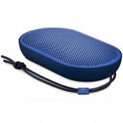 Bang & Olufsen Beoplay Speaker P2 - уникална аудиофилска преносима безжична аудио система за мобилни устройства (син)