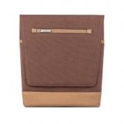 Moshi Aerio Lite Bag - стилна кожена чанта за MacBook 12 с отделение за таблети и смартфони (кафяв)