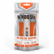Whoosh GO Screen Shine Pocket Sprayer with antimicrobial microfiber cloth 30ml