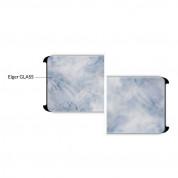 Eiger 3D Glass Case Friendly Curved Tempered Glass - калено стъклено защитно покритие с извити ръбове за целия дисплея на Samsung Galaxy S8 (черен-прозрачен) 3