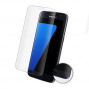 Eiger 3D Glass Edge to Edge Curved Tempered Glass - калено стъклено защитно покритие с извити ръбове за целия дисплея на Samsung Galaxy S7 (прозрачен) 1