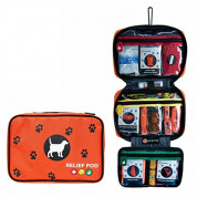 Relief Pod International RP132-202K-820 Orange Dog Safety and Care Kit - аптечка за кучета