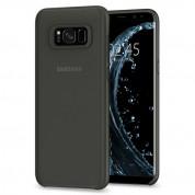 Spigen AirSkin Case - качествен ултратънък (0.36мм) кейс за Samsung Galaxy S8 (черен-мат)