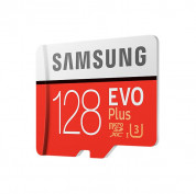 Samsung MicroSD 128GB EVO Plus UHS-I (U3) 4K UHD Videos Memory Card (2017) (GoPro) Compatible 1