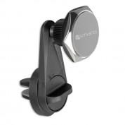 4smarts Ultimag Magnetic Clampmag Plus Car Holder - магнитна поставка за радиатора на кола за iPhone и смартфони (черен) 1