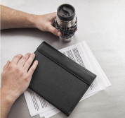 CaseMate Venture Leather Folio Case - кожен калъф (естествена кожа) и поставка за iPad Air 3 (2019), iPad Pro 10.5 (2017) 3