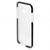 4smarts Soft Cover Airy Shield - хибриден удароустойчив кейс за Samsung Galaxy A3 (2017) (черен-прозрачен) 1