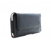 Honju Horizon Belt Leather Case HHAPPLE - кожен (естествена кожа) калъф за iPhone X/XS, iPhone 8 Plus, iPhone 7 Plus, Galaxy S8 Plus, Note 8, LG G6, Huawei P10 и смартфони до 5.5 инча 8