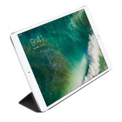 Apple Leather Smart Cover - оригинално кожено покритие за iPad Air 3 (2019), iPad Pro 10.5 (2017) (черен)  2