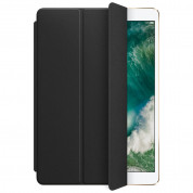 Apple Leather Smart Cover - оригинално кожено покритие за iPad Air 3 (2019), iPad Pro 10.5 (2017) (черен)  1