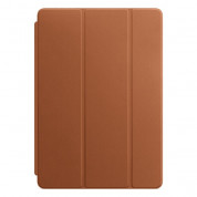 Apple Leather Smart Cover - оригинално кожено покритие за iPad Pro 10.5 (2017) (светлокафяв)